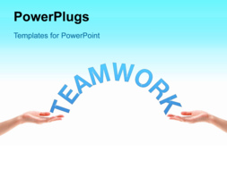 PowerPoint Template - Teamwork concept